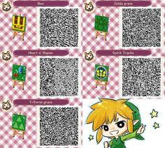 animal crossing qr codes | Animal Crossing : LOZ's QR code by PrinceOfRedroses