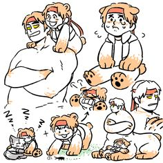 So there's centaurs and satyrs. Hunk Voltron, Form Voltron, Voltron Klance, Voltron Comics, Voltron Fanart, Rainbow Lion, V Cute, First Tv, Centaur
