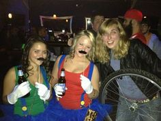 """The best Halloween costumes for single people (#7: """"Third Wheel""""): http://datingadvice.about.com/od/Meeting-People/tp/The-Best-Halloween-Costumes-for-Single-People.htm"""