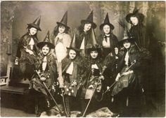 young witches class photo?