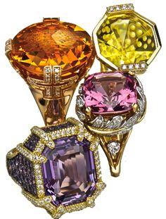 Jewels by Bulgari, Madstone, Judith Ripka, and Tiffany & Co. (via VegasMagazine)