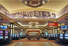 Dodge City, KS - Boot Hill Casino & Resort features over 700 electronic gaming machines, 18 table games, 5 live poker tables, a 150-seat casual dining restaurant known as Firesides at Boot Hill, Wild Bill's Beer Bar for a variety of specialty, imported and domestic beers, Cowboy Cafe for a light fare on-the-go, and Daylight Donuts.