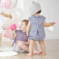 Blusita Baby Stars Gris by B&S Clothes   BelandSoph.com