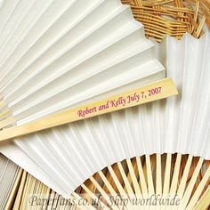 Customized paper wedding fan_Promotional paper fan cheap customized wedding fans Manufactory Wholesale