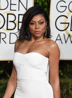 Pin for Later: Taraji P. Henson Gave Us the Hands-Down Fiercest Red Carpet Pose of the Night