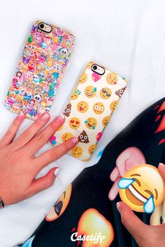 Emojis speak louder than words! | Click through to see more iPhone 6 phone case designs by Girly trend. >>> https://www.casetify.com/collections/iphone-6s-emoji-cases#/?device=iphone-6s  | @Casetify