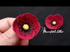 Free Beading Tutorials, Jewelry Making Tutorials, Beading Patterns, Crochet Hooded Scarf, Free Crochet Bag, Flower Video, Beading Techniques, Butterfly Pattern, Irish Crochet