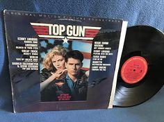 Vintage Top Gun  Original Soundtrack Vinyl LP