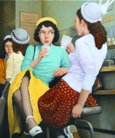 by Fred Calleri Towson, MD; since 2001 based In Flagstaff, AZ) Sculpture Textile, Art Sculpture, William Adolphe Bouguereau, Norman Rockwell, Illustrations, Illustration Art, Maryland, David Kroll, Creation Art