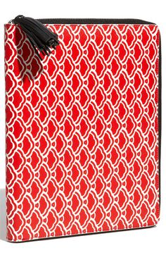 Diane von Furstenberg Print iPad Case $135 don't have an iPad but would get one just for this case must be a good design!