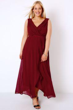 ffb49f2922ad8 Plus Size Maxi Dresses. Elegant Ball GownsMaxi Wrap ...