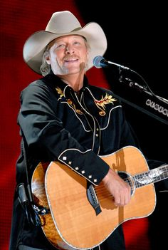 Alan Jackson is a country music singer well known all over Australia. He sets a great example of Australian music.