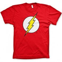 We love our Super Heroes, whether you are into Marvel, DC or we have something for everyone within our collection of the finest Comic Book T Shirts on the planet. Red Shirt, Big Bang Theory, The Flash, Cool Shirts, Funny Tshirts, Shirt Designs, Mens Tops, 2000ad, Comics Universe