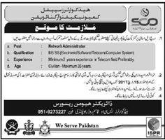 Pakistan Employment: Head Quarter Special Communications Organization J...