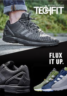 reputable site e055b 0d214 adidas Originals ZX Flux Tech Fit