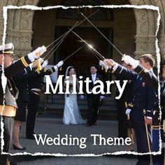 Theme Military Wedding Ideas