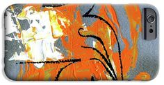 IPhone Case featuring the painting Modern Abstract_3 by Rupam Shah