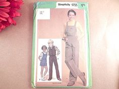 Girls Clothes Sewing Pattern Uncut Simplicity by TKSPRINGTHINGS
