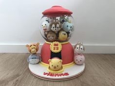 Tumbler tsum tsum cake - Cake by R.W. Cakes