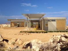 Joshua Tree Open House - Blu Homes  Sept. 15-16, the Disney home by Blu Homes.  #architecture, #JoshuaTree