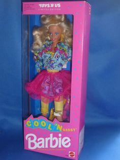 ♥ NRB TOP 90-er Limited Edition Mattel 1992 Cool n Sassy Barbie 10 Looks RAR