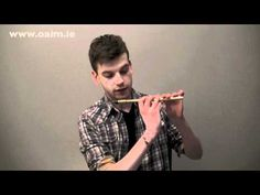 Expert Irish Tin Whistle Lessons/ Tutorials from Online Academy of Irish Music with Thomas Johnston.