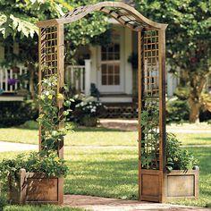 Wisteria Trellis, Garden Arch Trellis, Arbors Trellis, Diy Trellis, Garden Arches, Trellis Design, Garden Arbor With Gate, Trellis Ideas, Garden Solutions