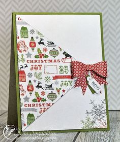 Joyful Creations with Kim: CAS(E) this Sketch: A Merry Bow