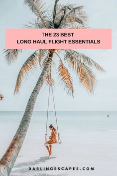Heading on a long flight? We've pulled together our list of tried and tested long haul flight essentials to make your time in the air a comfortable one. Packing Tips For Travel, Travel Advice, Travel Essentials, Travel Guides, Travel Hacks, Packing Lists, Budget Travel, Travel Flights, Long Flights
