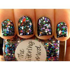 Love the big glitter flakes