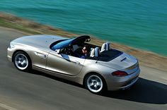 BMW Z4 Roadster for a European Alpine Mountain drive with Beachs Adventures
