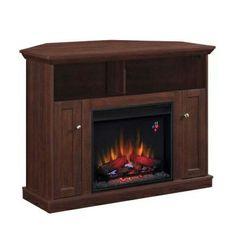 corner elec fireplaces | Wall/Corner Electric Fireplace | Home Decor