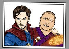 Doctor Strange et Wong