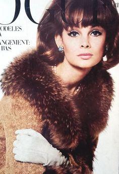 Jean Shrimpton photographed by Bailey for Vogue Paris October 1963