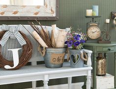 Weekend at the Lodge - Take a Trip to the Country with Rustic Decor