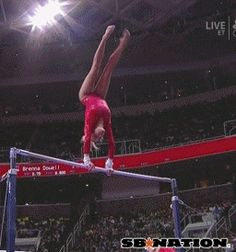 If you're going to fall, do it fabulously. (gif)