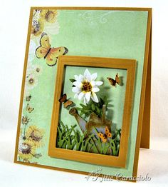 Mini Daisy and Watering Can by kittie747 - Cards and Paper Crafts at Splitcoaststampers