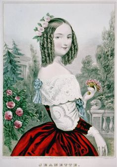 Historical Fashion fawnvelveteen: Jeanette, New York : Published. Native American History, Native American Indians, American Art, Victorian Women, Victorian Fashion, Hipster Design, Classic Girl, Miniature Portraits, Fashion Plates