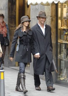 Pin for Later: Matthew McConaughey and Camila Alves Have Years of Adorable Moments They toured Italy together in August 2007.