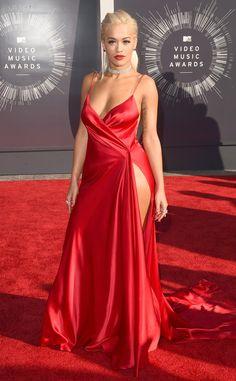 Rita Ora in Donna Karan Atelier - 2014 MTV Video Music Awards Red Carpet
