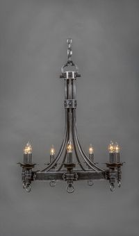 antique chandeliers for sale australia. castillian vintage wrought iron chandelier - 7 light antique chandeliers for sale australia r