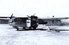 """Spring time in the air! And here comes the new workhorse. Go 244 W.Nr. unknown """"4V+??"""", Hagenow, April 1942."""