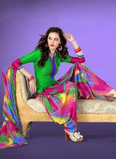 Designer Punjabi Patiala Salwar Kameez