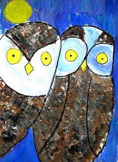 Celestino Piatti inspired owls.