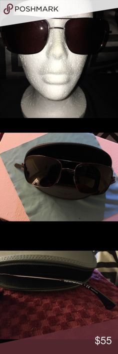 Emporio Armani Exchange Sunglasses Good condition not over worn  Armani Exchange Sunglasses with Case Accessories Sunglasses