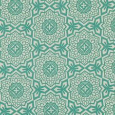 Joel Dewberry Botanique Mosaic Bloom Teal Eclectic Geometric Modern Free Spirit Designer Quilting BTHY Half Yard Quilt Fabric HY by KinshipQuilters on Etsy Geometric Patterns, Textile Patterns, Print Patterns, Textiles, Arabesque, Fabric Design, Pattern Design, Pattern Fabric, Pattern Ideas