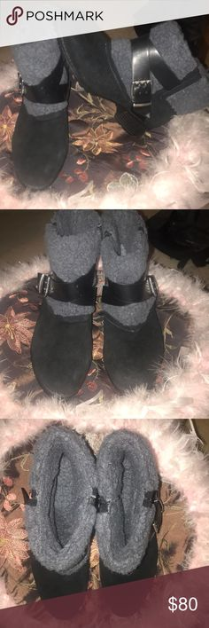 Charles by Charles David Fur Boots! Size: 6 BRAND NEW Charles by Charles David warm fur lined black boots! Never worn, I just have other boots that are too similar that I wear.   Willing to negotiate!! Charles David Shoes Winter & Rain Boots