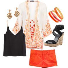 Bright kimono