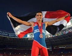 Luguelin Santos se lesiona y estará fuera por un mes; no le afectará para Río 2016