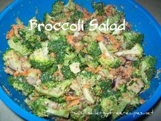 Broccoli Salad 3 c. cut up broccoli florets 1/2 c. slivered almonds 1/2 c. crumbled bacon 1/2 c. red onion 1/2 c. celery 1/2 c. shredded carrot